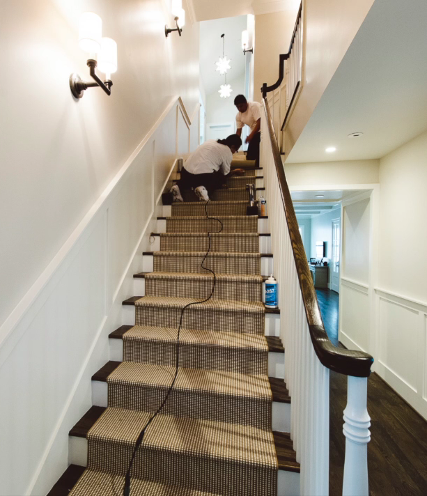 Couristan's Knob Hill Stair Runner
