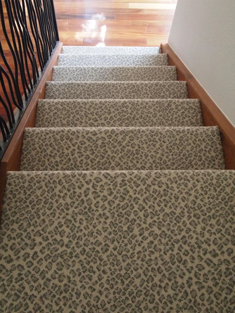 Animal print archives schroeder carpet for Leopard print carpet stair runner